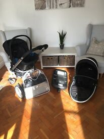 Silvercross Travel System inc isofix and rain and suncover