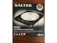 Salter Electronic Kitchen Scales, Brand New!