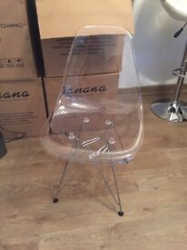 Brand anew Eiffel Chairs