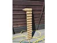 Garden Log Edging in very good condition over 20 £3.00 each