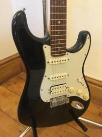 Fender American Deluxe HSS Stratocaster Guitar – 2000 - Black