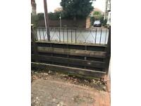 Wrought iron wall/fence tops