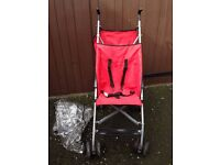 PUSHCHAIR USED HOWEVER IN GOOD CONDITION AS USED AS A SPARE IN THE CAR