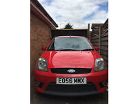 2006 Ford Fiesta ST 2.0 Red Modified Exhaust Black Alloys