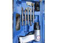 air powered chisel set sealey hammer set