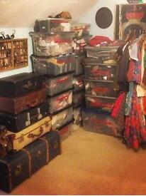 Lots of vintage , im looking to sell vintage clothes vintage costumes props and antiques