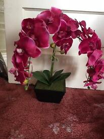 Fake orchid decoration