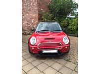 Mini Cooper S 2003 Red with Black Roof, 12 Months MOT Low Milage