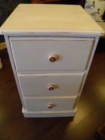 Lovely Pair of Up-cycled Pine Chest of Drawers - WE CAN DELIVER