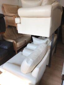 Leather suite 3/2/1 footstool