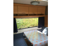 2005 Hymer Swing 505 - 5 Berth Touring Caravan (fixed double bed and bunks)