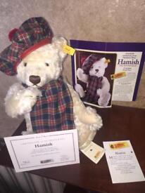 """STEIFF Teddy Bear - """"Hamish"""""""