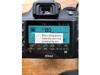 Nikon D3400 + 18 - 55 mm lense