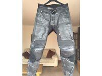 Fieldsheer Leather Motorbike Trousers
