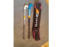 Grays Hockey Sticks and bag