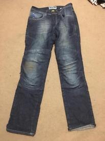 """Motorbike Kevlar jeans size W32"""", Men"""
