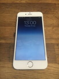 Silver iPhone 6 16gb new screen