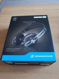 BRAND NEW SELAED! Sennheiser Momentum On-Ear MOE 2.0 Wired Brown! Warranty!