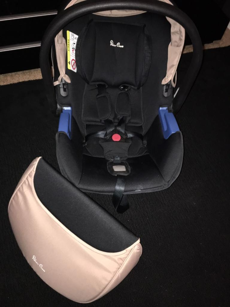 Silver Cross Simplicity Car Seat in Sand