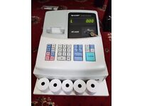 Sharp XE-A102 Cash Register with Key and 5 Rolls available with it