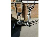 V-Fit 2 in 1 CYCLE/ ELLIPTICAL CROSS TRAINER