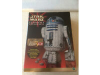 STAR WARS R2 D2 3D PUZZLE, RARE LIMITED EDITION