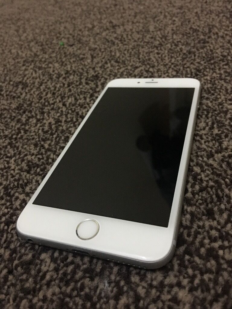 Apple Iphone 6 Plus 64gb Silver Faulty Screen Replacement By Needed