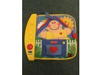 fisherprice musical baby book