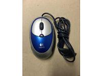 Logitech Click Optical Mouse - M-BT85