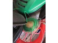 Qualcast lawnmower & grass trimmer