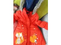 Girls jackets x4 age3l4