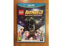 Lego Batman 3 beyond Gotham Wii U game