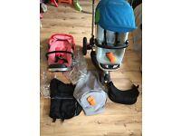 Quinny Buzz Pram Pushchair Buggy Stroller & Accessories