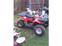 290cc automatic farm quad with reverse SWAPS off or on and off road motorbike
