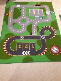 Child's car play mat