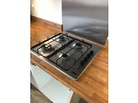 Zanussi 4 Ring Gas Hob - Almost New