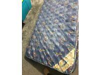 Single mattress is for sale.