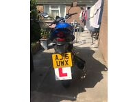 Lex motto assult 125cc motorbike