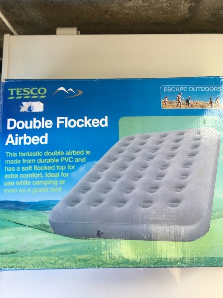 DOUBLE CAMP BLOW UP BED WITH CAR & ELECTRIC PUMP | in Aberdeen | Gumtree