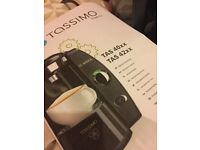 Bosch Tassimo coffee pod machine. Excellent condition, includes descaling pod and manual