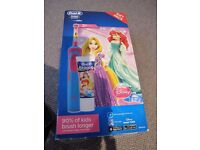 Oral B Stages Power rechargeable electric Disney Princess gift set