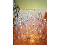 Glass bottles X 30