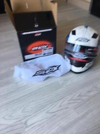 Shox/sniper motorcycle helmet