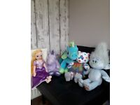Build a Bears and mixed soft toys