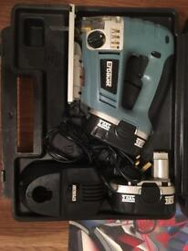 Erbauer cordless jigsaw, Great condition!!
