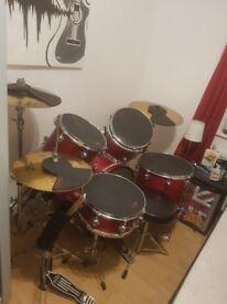 Pacific (PDP) full drum kit