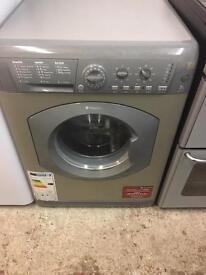 Silver 7kg Hotpoint Washing Machine Fully Working Order Just £75 Sittingbourne
