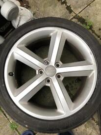 "Audi Sline alloys 18""x4"