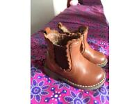 Next Girls Leather Boots