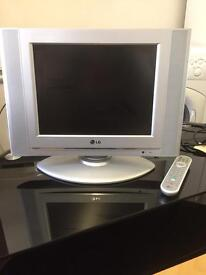 """LG 15"""" flat screen tv can deliver"""
